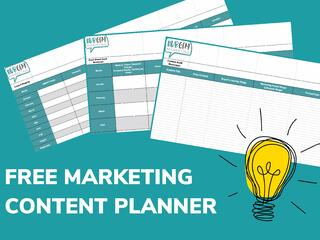 Marketing content planner
