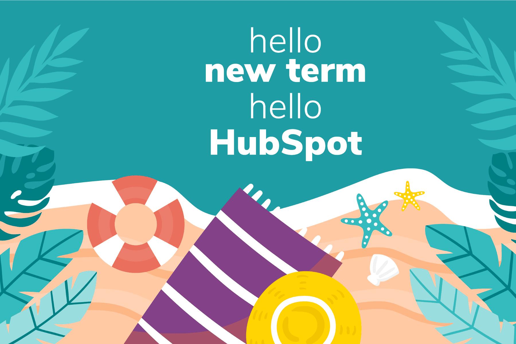 hello new term