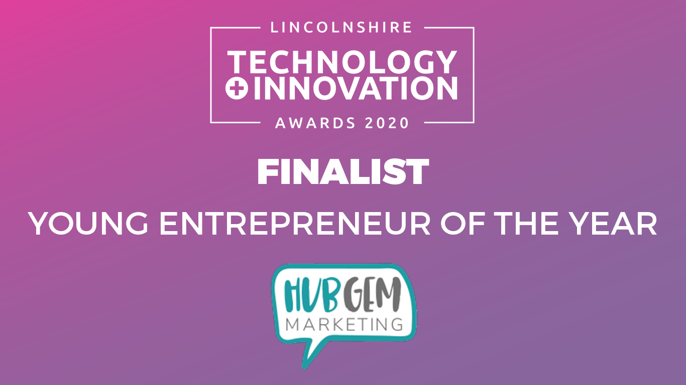 Finalist young entrepreneur of the year