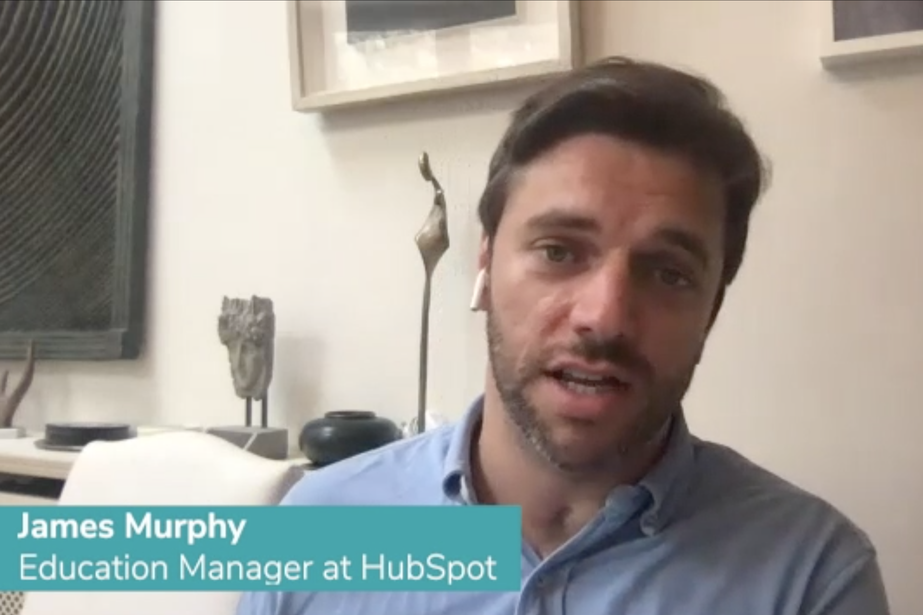 video with James at HubSpot