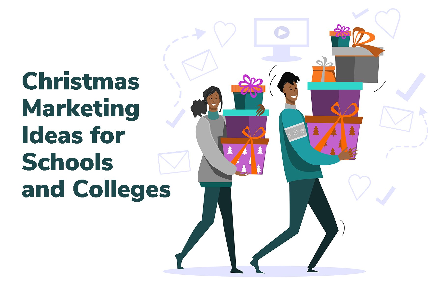 christmas marketing for schools and colleges