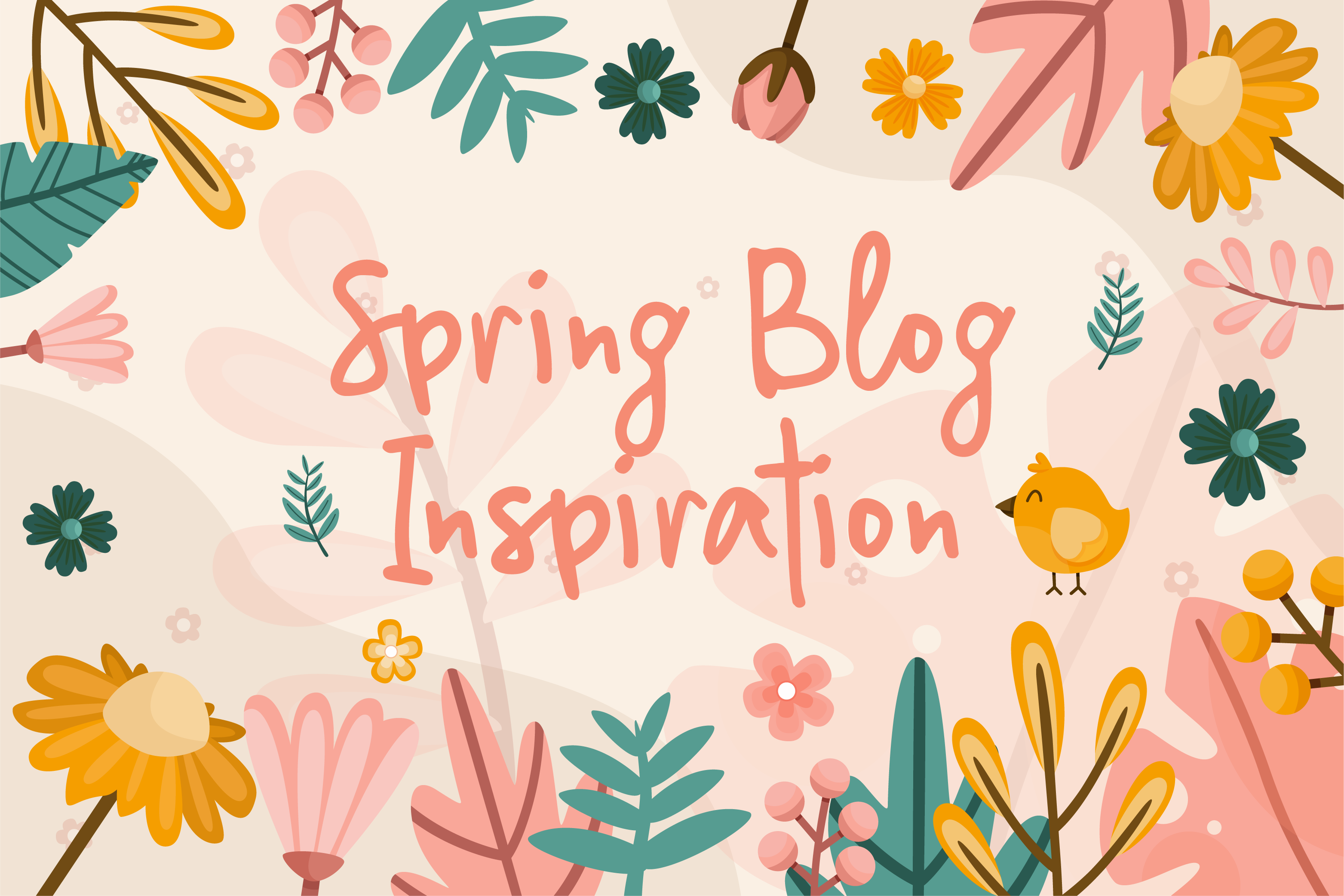 Spring blog ideas for schools